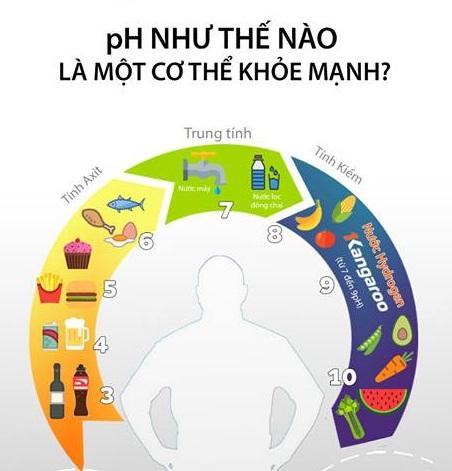 pH như thế nào là một cơ thể khỏe mạnh?