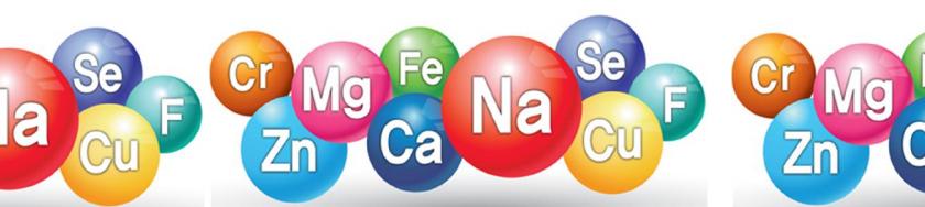 Các khoáng chất trong nước Hydrogen: Na+, K+, Ca2+, Mg2+, Fe2+