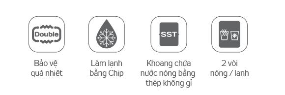 Đặc tính sản phẩm Cây nuóc nóng lạnh KG61A3