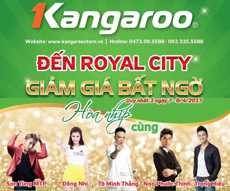 Roadshow Foodfest tại Royal City