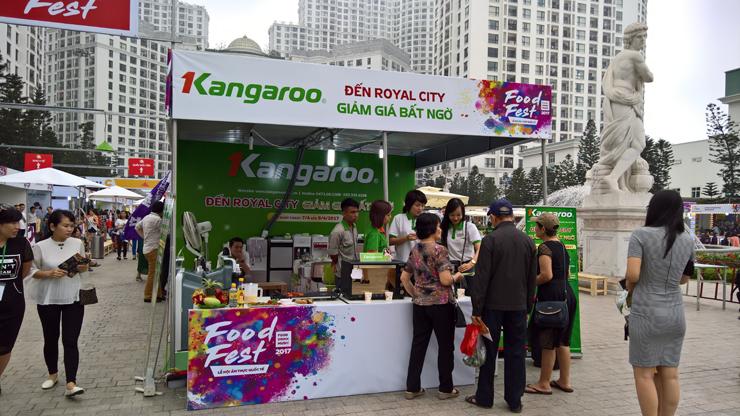 kangaroostore tại Foodfest 2017