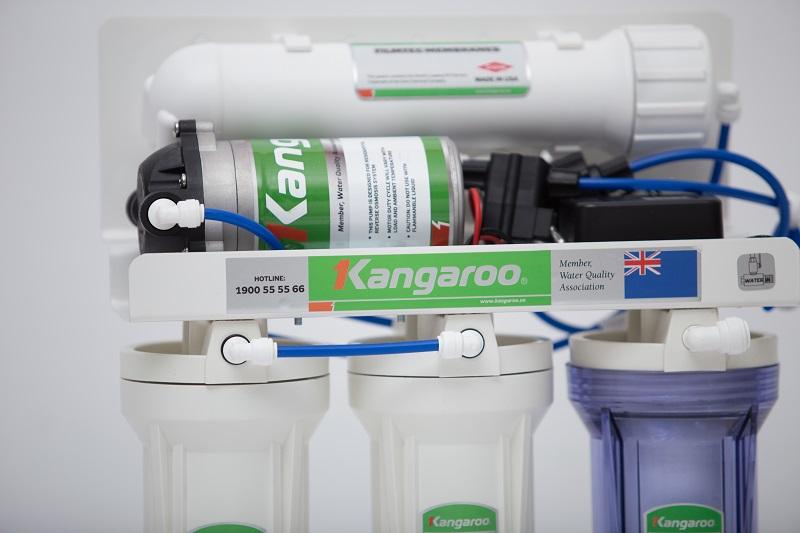 Tính năng bơm hút sâu tự động của Máy lọc nước Kangaroo Hydrogen