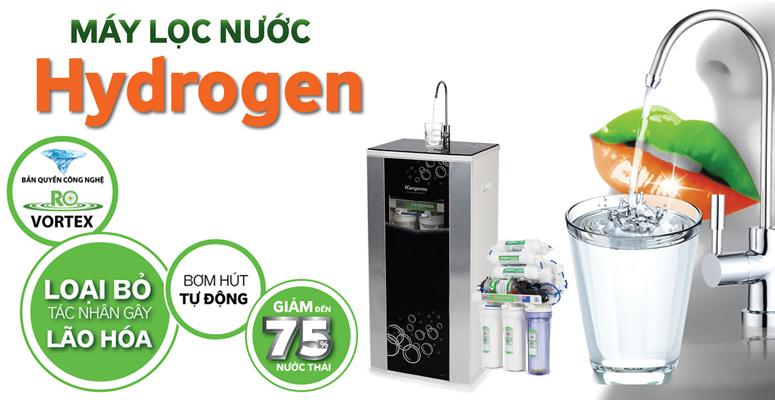 Máy lọc nước Kangaroo Hydrogen tạo ra nước Hydrogen được chứng minh làm chậm lão hóa và chăm sóc da