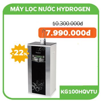 Giá bán Máy lọc nước Kangaroo Hydrogen KG100HQ vỏ tủ VTU đen