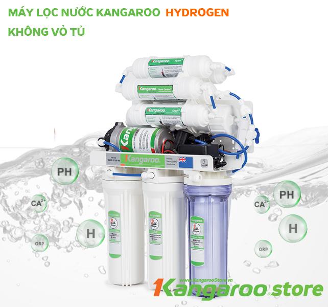 Đặt mua Máy lọc nước Kangaroo Hydrogen KG100HQ không vỏ