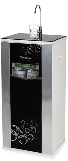 Máy lọc nước Kangaroo Hydrogen KG100HQ vỏ VTU đen