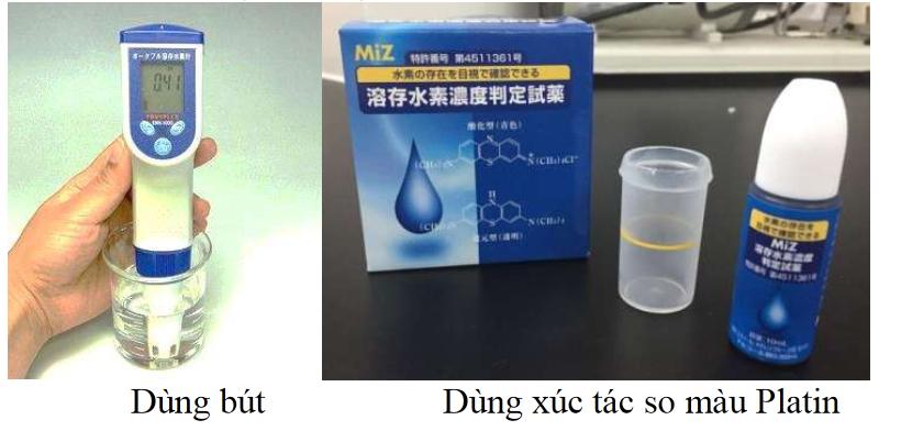 Phương pháp kiểm tra nồng độ Hydrogen