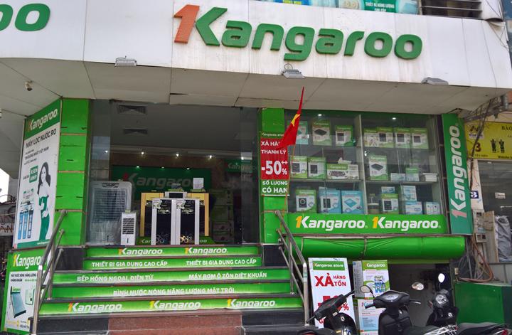 Hình ảnh thực tế Máy lọc nước Kangaroo Hydrogen KG100HQ