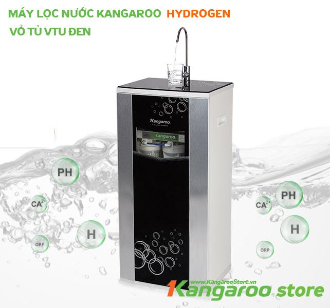Đặt mua Máy lọc nước Kangaroo Hydrogen KG100HQ vỏ VTU đen