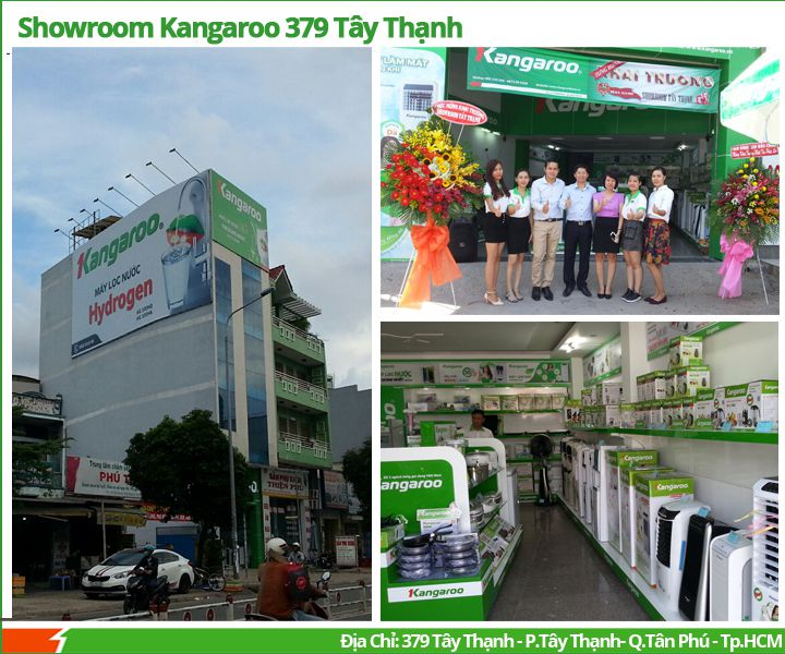 Showroom Kangaroo Store 379 Tây Thạnh
