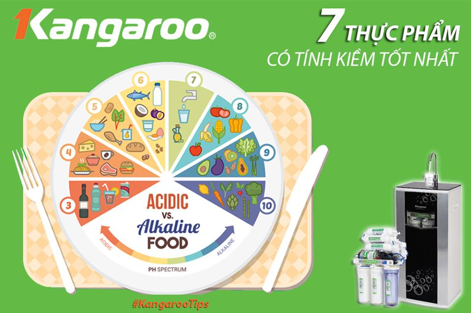 7 Loại thực phẩm có tính kiềm tốt cho cơ thể