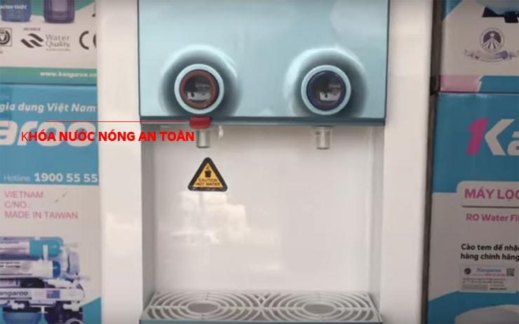 Cây nước nóng lạnh Kangaroo Hàn Quốc có khóa nước nóng an toàn