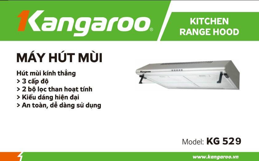 Máy hút mùi Kangaroo KG529