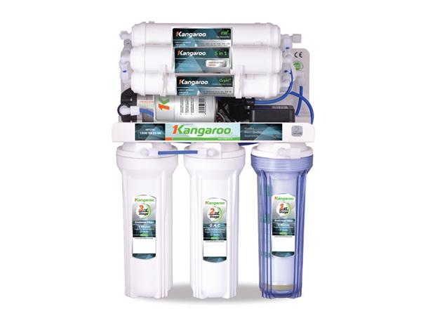 Máy lọc nước Kangaroo Hydrogen KG100HP không vỏ 10 cấp lọc