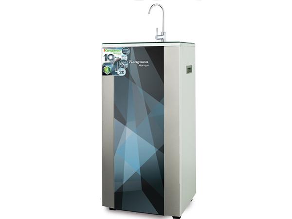 Máy lọc nước Hydrogen Plus KG100HP được thiết kế giống như một viên kim cương