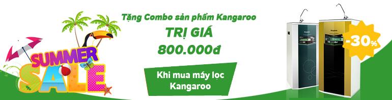 Chương trình khuyến mại Máy lọc nước kangaroo