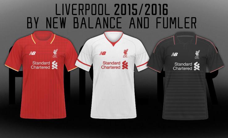Áo bóng đá Liverpool mùa giải 2015 - 16