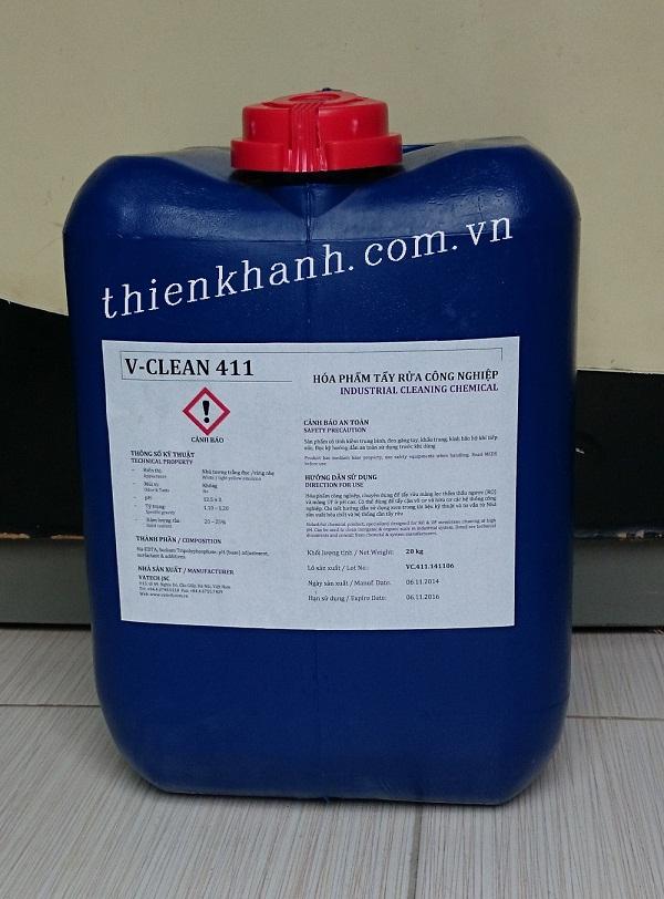 Hóa chất tẩy rửa màng lọc thẩm thấu ngược - V‐CLEAN 411