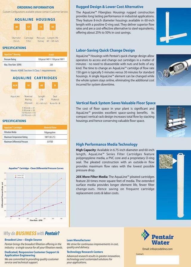 Hệ thống lọc Aqualine Công Suất Lớn