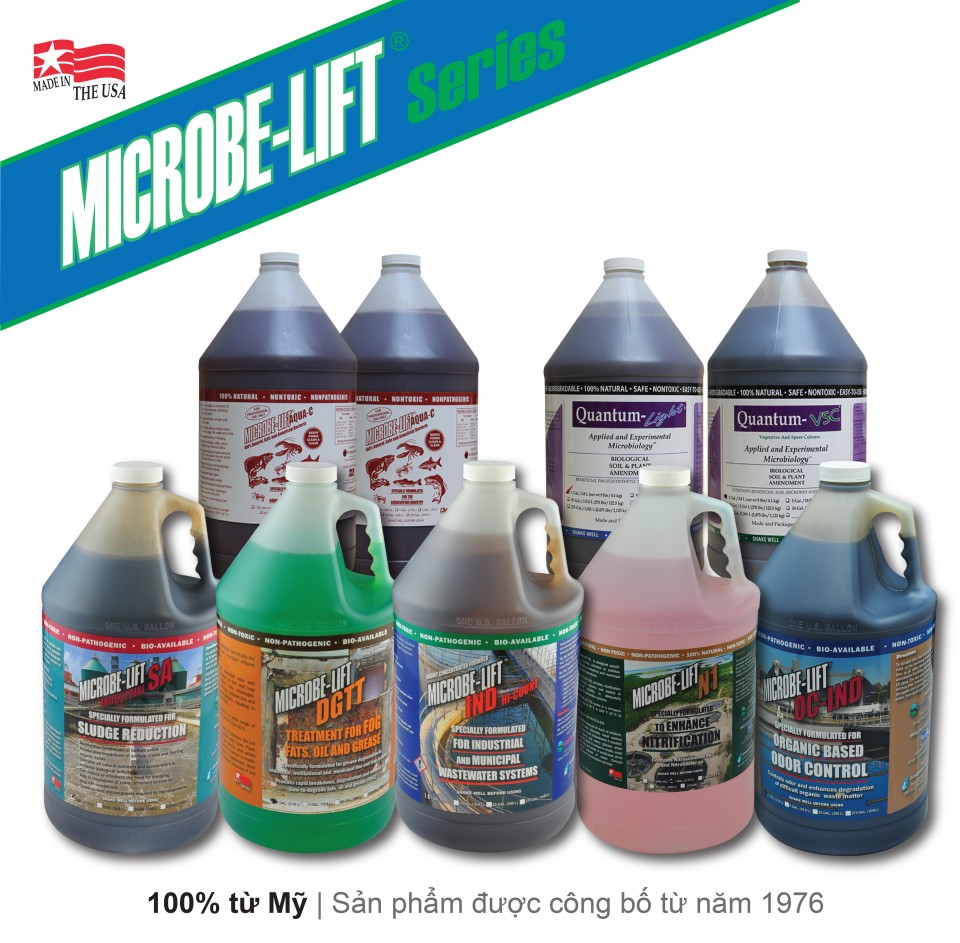 Dòng sản phẩm Vi sinh Microbelift