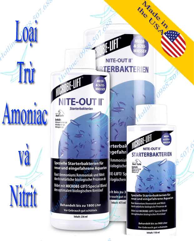 NITE-OUT II - Nitrifying Bacteria (giảm độc tính của amoniac và nitrit)