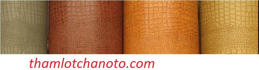 Thảm Lót Chân Ô tô 5D Giả Da Cá Sấu màu sắc đa dạng