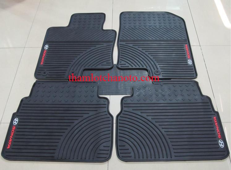 Thảm lót sàn ô tô cao su cho xeSonata cao cấp