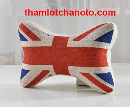 Gối tựa đầu in hình lá cờ nước Anh