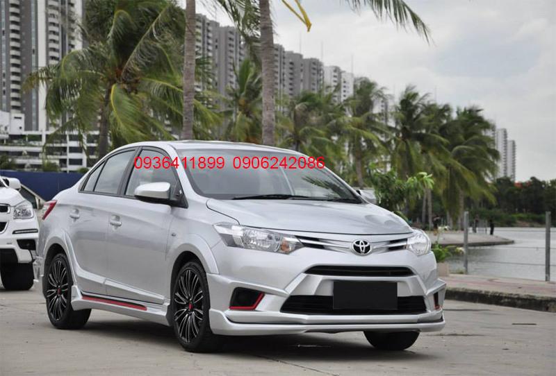 Body kit Toyota Vios chính hãng