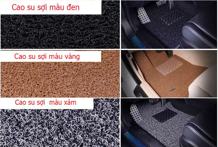 thảm cao su sợi