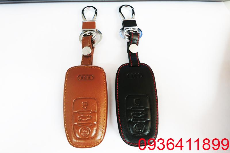 vỏ chìa khóa da cao cấp, vỏ bọc chìa khóa, vỏ chìa hóa Audi