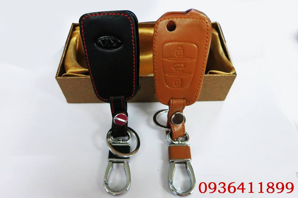 vỏ bọc chìa khóa Kia , vỏ chìa khóa ô tô da cao cấp, vỏ chìa khóa ô tô bền đẹp, vỏ chìa khóa ô tô