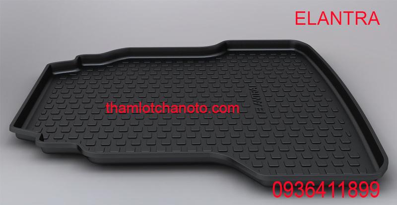 Khay lót cốp nhựa cao cấp Elantra chính hãng