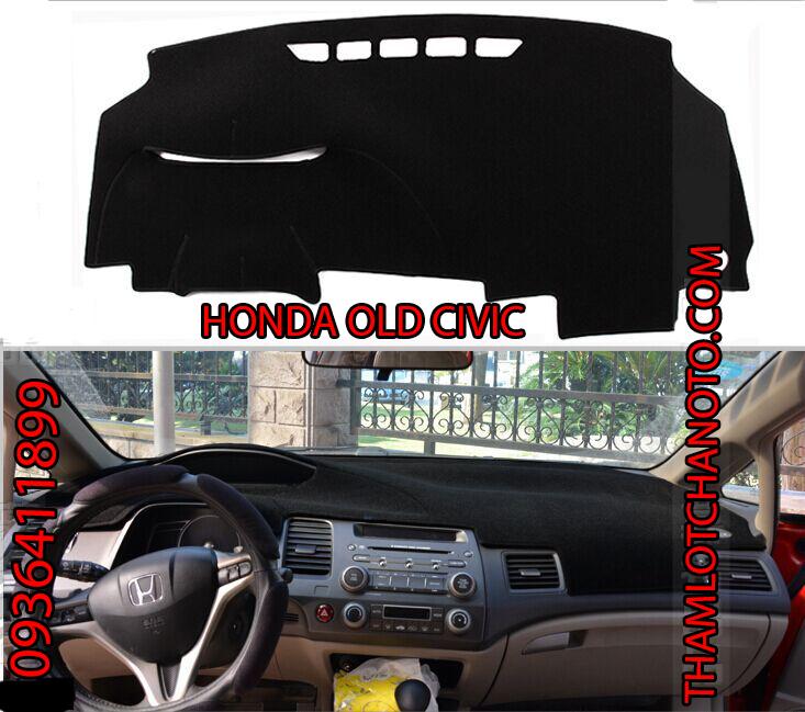 tham chong nang taplo cho xe Honda Old Civic
