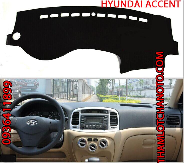 tham chong nang taplo cho xe Hyundai Accent