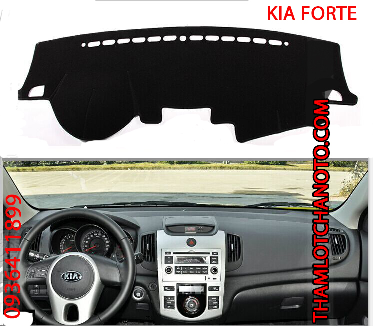 tham chong nang taplo cho xe Kia Forte
