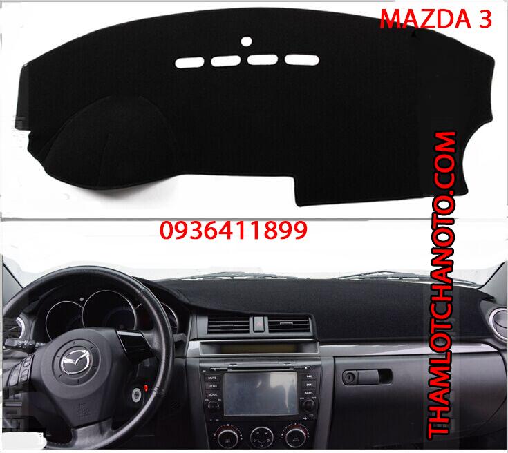 tham chong nang taplo cho xe Mazda 3