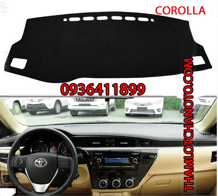 tham chong nang taplo cho xe Toyota Corolla