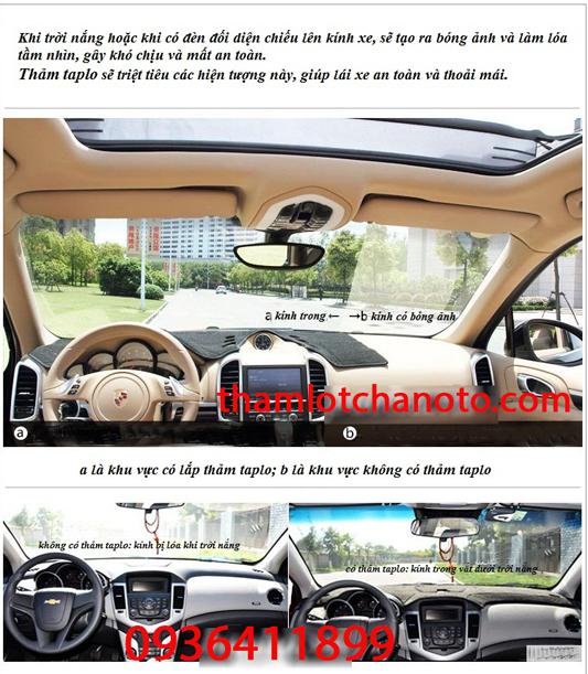tham chong nang taplo xe ô tô Hyundai Elantra giup lai xe an toan