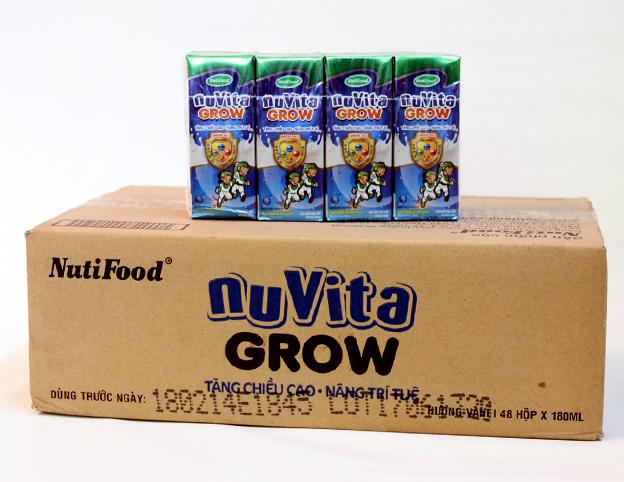 Kết quả hình ảnh cho NUVITA GROW 180ML