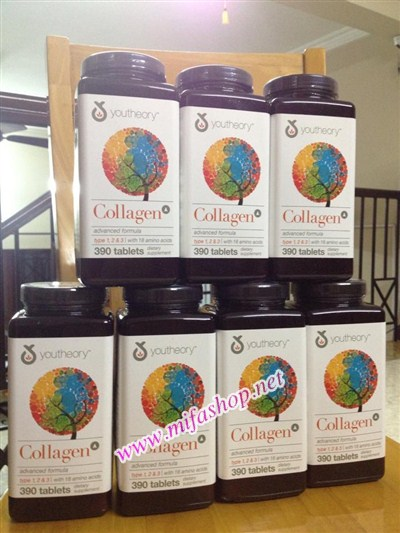 Collagen Youtheory 390 viên