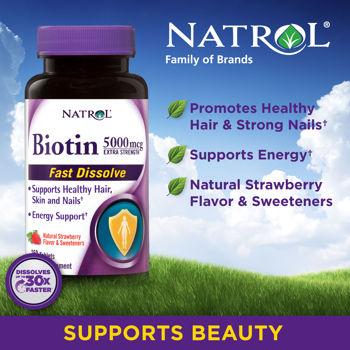 Biotin 5000mg giúp tóc, móng chắc khỏe mifashop.net