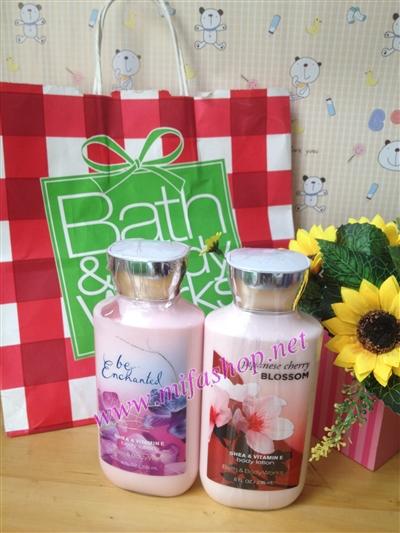 BBW hương Be enchantel và japanese blossom