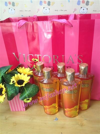 sữa tắm victoria secret amber romance