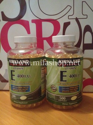 Vitamin E 400 IU Kirkland singnature