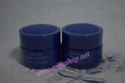 Kem dưỡng trắng mịn da ban đêm Shiseido Aqualabel