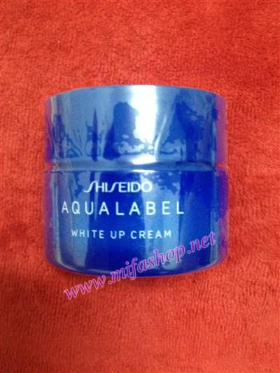 Kem thuốc dưỡng trắng mịn da Shiseido Aqualable Xanh