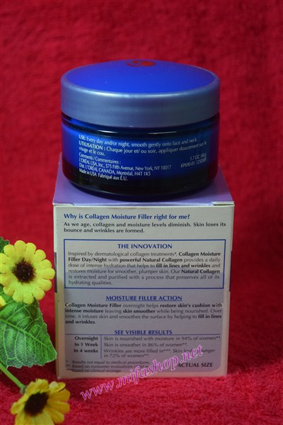Kem Loreal Collagen trẻ hóa làn da ngày và đêm