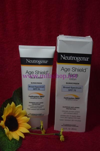 Kem chống nắng chống lão hóa cho da mặt Neutrogena Age Shield Face SPF 70
