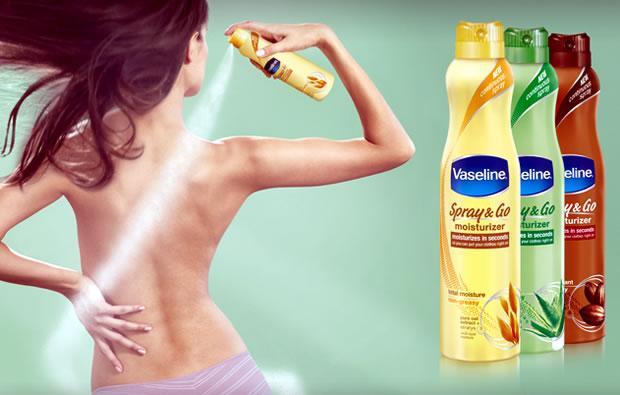 cách dùng Xịt Dưỡng Ẩm Vaseline Spray & Go